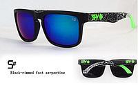 Солнцезащитные очки SPY+ Black-rimmed foot serpentine, фото 1