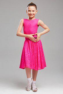 Платье розовое для девочки 004