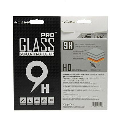Защитное стекло Samsung A8+ 2018, A8 Plus 2018, A730 2018, Окантовка Black A-Case, фото 2