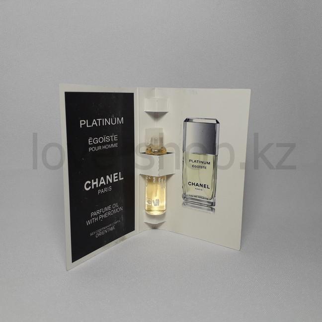 Духи с феромонами   Chanel Egoiste Platinum pour homme, 5 ml