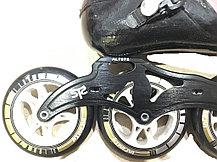 Спортивные роликовые коньки Inline Patins для слалома 4 колеса (37,38,39,40 размеры) доставка, фото 2