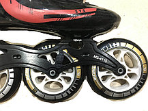 Спортивные роликовые коньки Inline Patins для слалома 4 колеса (37,38,39,40 размеры) доставка, фото 3