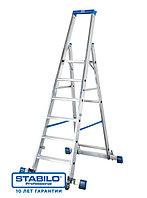 Передвижная лестница-стремянка, оснащенная траверсой KRAUSE STABILO