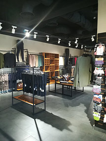 Торговое оборудование для сети магазинов одежды ZERO.  4