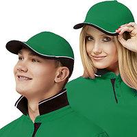 Двухцветная бейсболка StanTwoColors 11TC Зелёный 56-58
