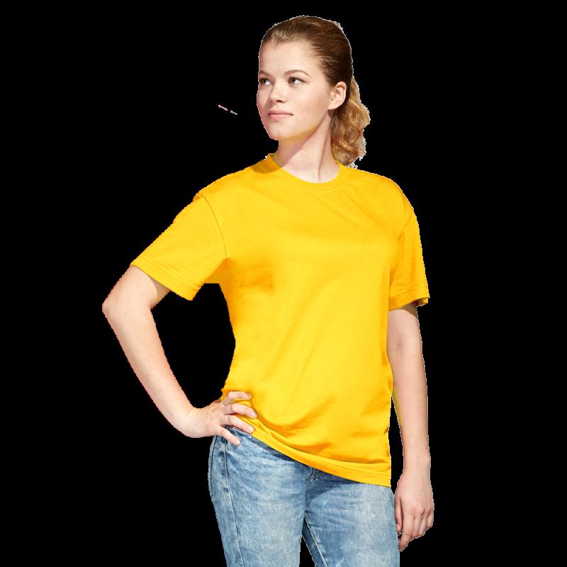 Промо футболка унисекс StanAction 51 Жёлтый XS/44