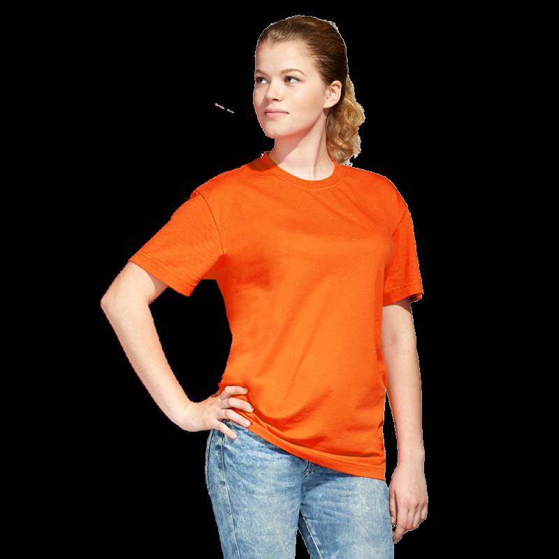 Промо футболка унисекс StanAction 51 Оранжевый L/50