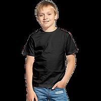 Облегченная детская футболка StanClass 06U Чёрный 6 лет