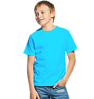 Облегченная детская футболка StanClass 06U Бирюзовый 10 лет