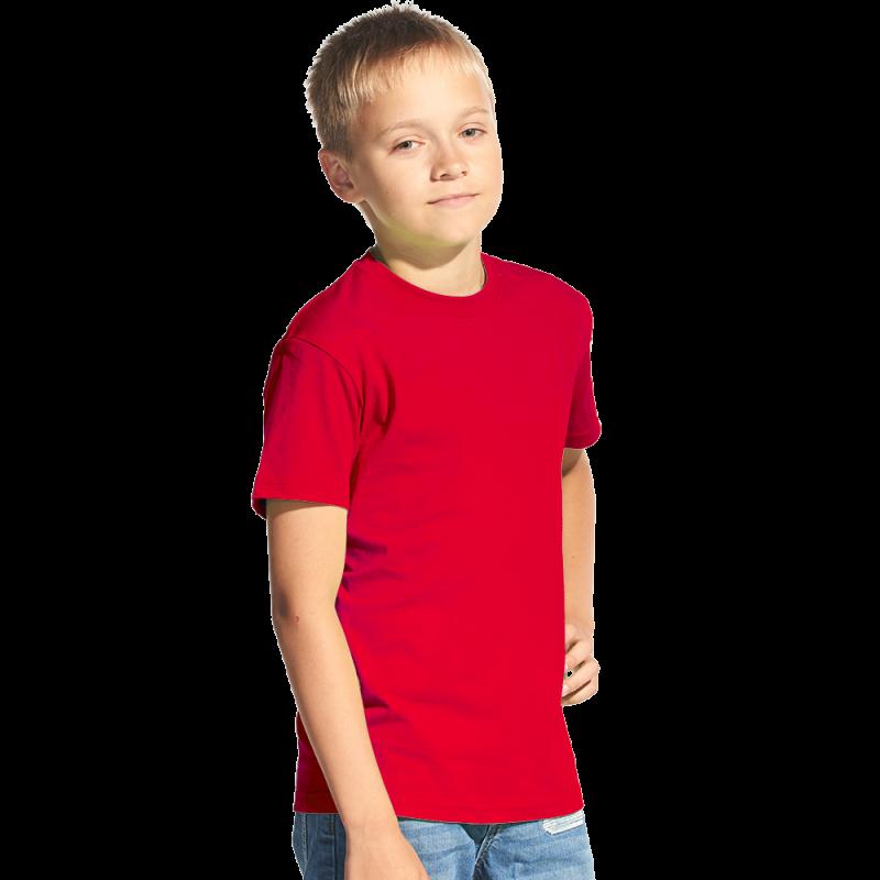 Классическая детская футболка StanKids 06 Красный 8 лет