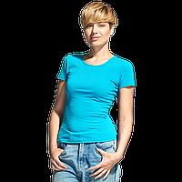 Женская футболка-стрейч StanSlimWomen 37W Бирюзовый S/44
