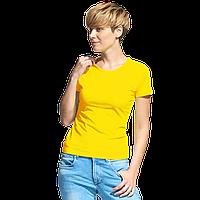 Женская футболка-стрейч StanSlimWomen 37W Жёлтый XL/50
