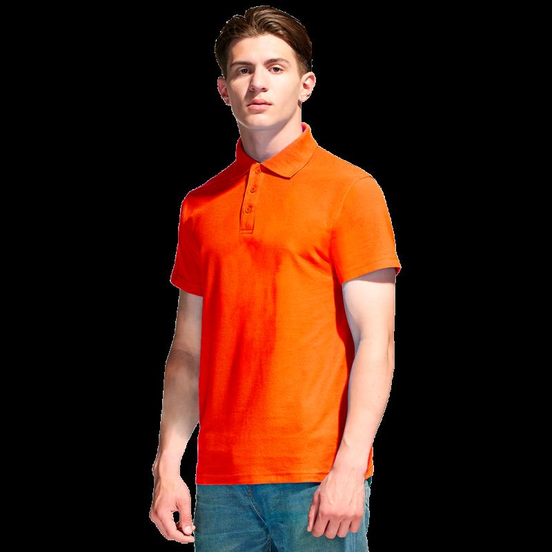 Базовая рубашка поло  StanPremier 04 Оранжевый XXL/54