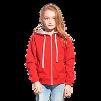 Облегченная детская толстовка  StanCoolJunior 61J Красный 10 лет