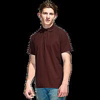 Базовая рубашка поло  StanPremier 04 Тёмно-Шоколадный XS/44