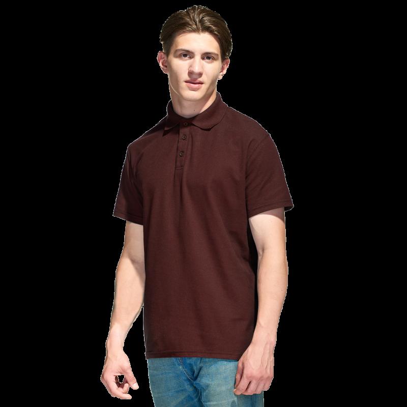 Базовая рубашка поло  StanPremier 04 Тёмно-Шоколадный XXL/54