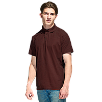 Базовая рубашка поло  StanPremier 04 Тёмно-Шоколадный XXXL/56