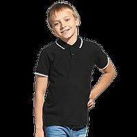 детская рубашка поло StanTrophyJunior 04TJ Чёрный 14 лет