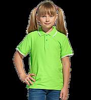 детская рубашка поло StanTrophyJunior 04TJ Ярко-зелёный 8 лет