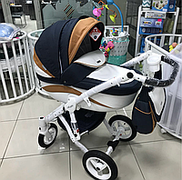 Детская универсальная коляска Adamex barletta new 2в1 (B7), фото 1