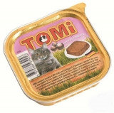 TOMI - для кошек паштет (телятина с птицей) 100гр.
