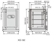 СО2 инкубатор с воздушной рубашкой Panasonic (Sanyo) MCO-18AC (MCO-18AC-PE), (170 л.)