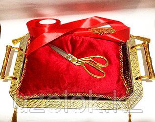 Золотые ножницы и товары для церемоний открытия