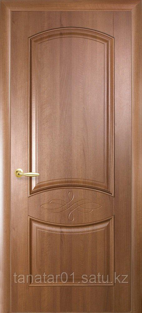"""Дверь """"Донна"""" глухая золотая ольха"""