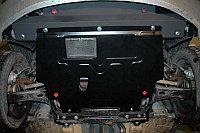 Защита картера двигателя и кпп на Volkswagen Passat B3/Фольксваген Пассат Б3 1988-1993