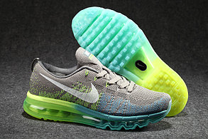 Кроссовки Nike Flyknit Air Max серые, фото 2