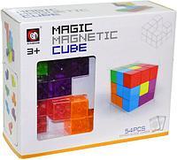 730A Магнитные детали прозрачные делаем Куб 54дет 16*19см, фото 1