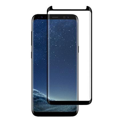 Защитное стекло Rinco 3D, Samsung A8+ 2018, Samsung A730 2018 Black, фото 2