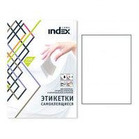 Этикетки самоклеящиеся INDEX Label, А4, 105 х 48 мм., 12 шт/лист, 100 л.