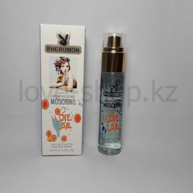 Духи с феромонами Moschino Cheap And Chic I Love Love, 45ml