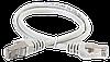 ITK Коммутационный шнур (патч-корд), кат.5Е FTP, 0,5м, серый