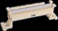 ITK Кросс-панель на кронштейне 100-парная 110 т.