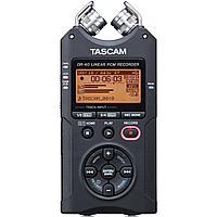 Профессиональный аудио рекордер Tascam DR-40 (Version-2) + SD 4 Gb, фото 1
