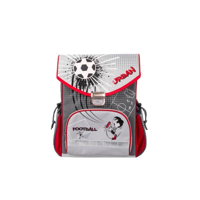 Школьный Рюкзак Футбол эргономичная спинка (серый)