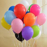 Однотонные, разноцветные шары 12 дюймов