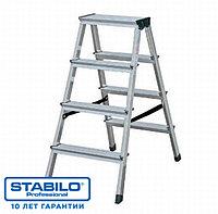 Двухсторонняя лестница-стремянка 2х4 ступ. KRAUSE STABILO