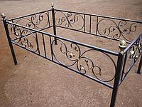 Кованная оградка №3