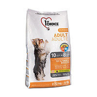 1st Choice Adult Toy and Small breed (Фест Чойс) для взрослых собак мини и малых пород с курицей, 350г