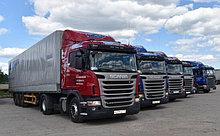 Перевозки грузов автомобильным транспортом Санкт-Петербург–Ташкент (тент)
