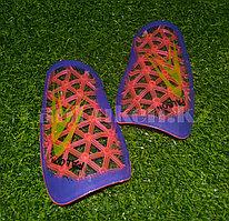 Футбольные щитки под гетры Unisport (розовые)
