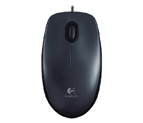 LOGITECH Мышь Corded Mouse M100 (GRAY), фото 2