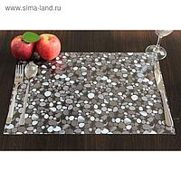 "Клеенка для стола ""Table Mat"" Transparent, 80 см, рулон 20 п.м., TD 142-001"