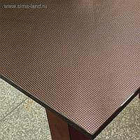 "Клеенка для стола ""Table Mat"" Metallic, кофе, 80 см, рулон 20 п.м., TD 22-A041"