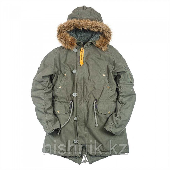 Куртка N3B FISH TAIL PARKA осень
