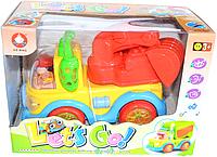 0909 Погрузщик для малышей свет, звук немного помятая коробка, фото 1