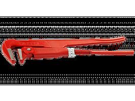 """Ключ трубный рычажный ЗУБР, прямые губки, цельнокованый, Сr-V, № 0,  3/4"""""""